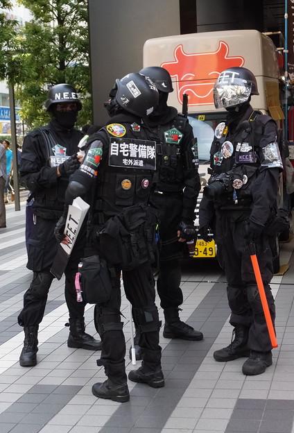 自宅警備隊の渋滞?