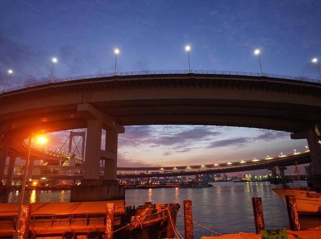 レインボーブリッジ 海岸3ループ橋(2015.11)