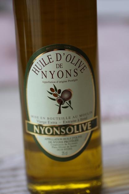HUILE D' OLIVE DE NYONS 1