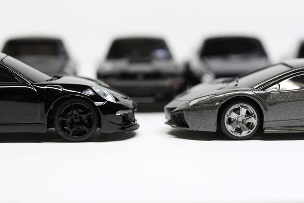 RUF Black Car Collection RUF RT 35 とLamborghini コレクション レヴェントン