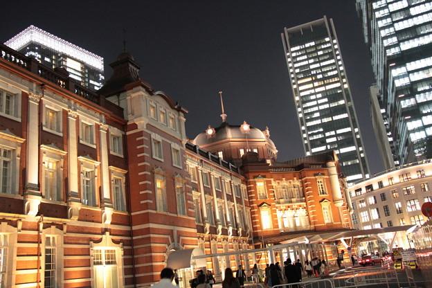 東京駅 夜景 5