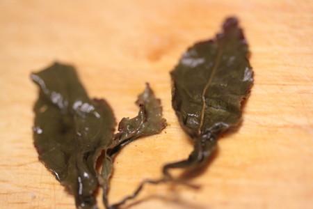 MARIAGE FRERES MAORI BLUE (NLLE-ZELANDE) 淹れた後の茶葉