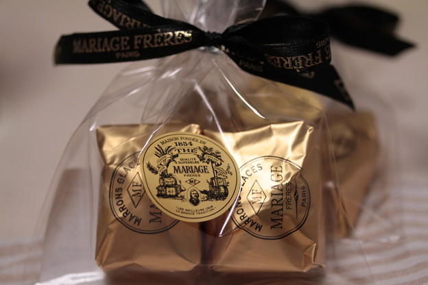 MARIAGE FRERES MARRONS GLACES 袋