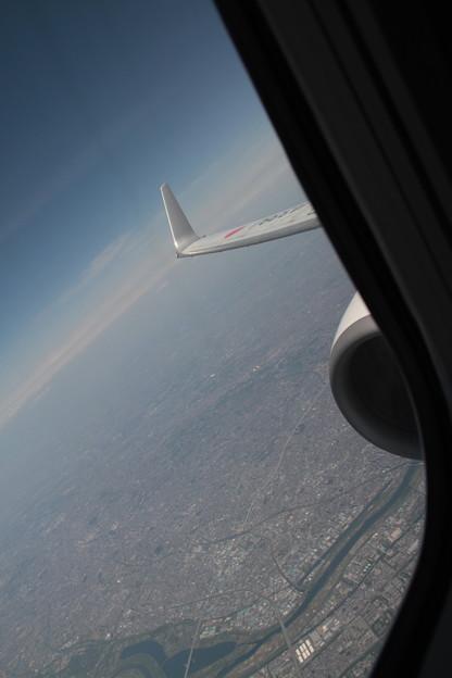 003 4月30日 長崎行搭乗便窓から