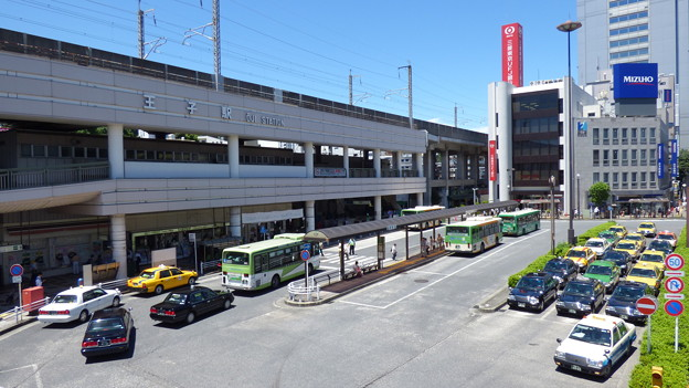 Photos: 王子駅前バスターミナル 2014.7.11