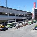 王子駅前バスターミナル 2014.7.11
