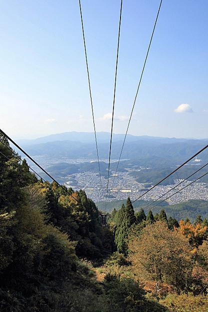 叡山ロープウェイ 比叡山頂→ロープ比叡