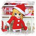 写真: 1/12DOLL 【クリスマス★ワンピ】 オビツ11ver