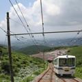 写真: 十国峠ケーブルカー