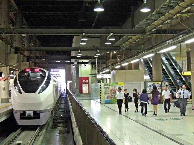 終着上野駅