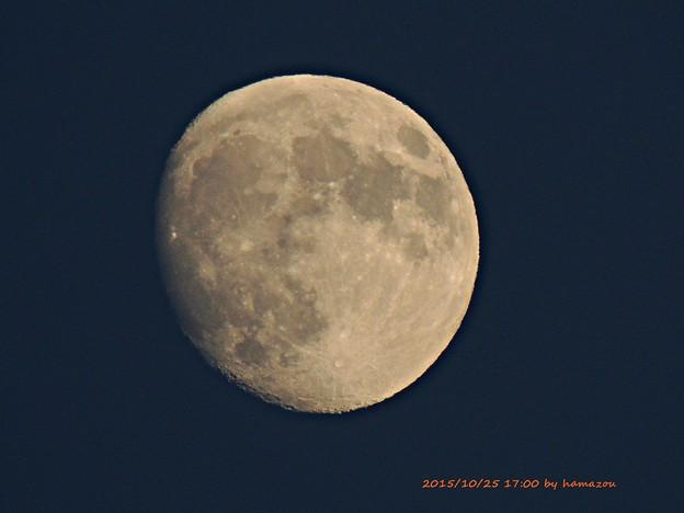 今宵の月(151025)