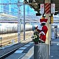 Photos: サンタ小僧と新幹線