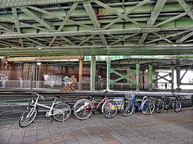 放置自転車禁止