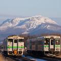 Photos: キハ40系、150系@稀府-黄金