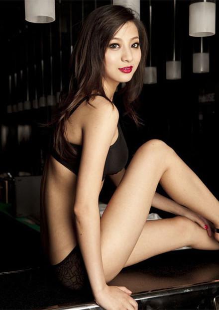 上海 黒下着の誘惑美形小姐 (3)