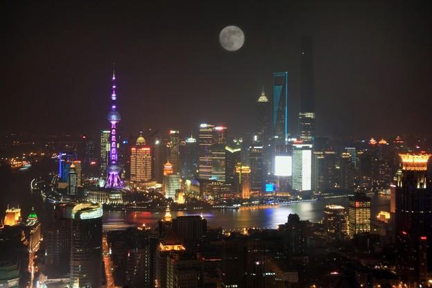 上海拍?的中秋明月