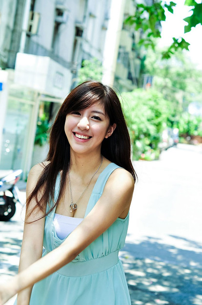 今日の一押し小姐10-09 笑顔がいいよね!!な、美形小姐 (2)
