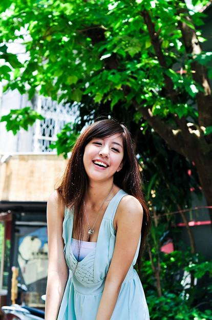 今日の一押し小姐10-09 笑顔がいいよね!!な、美形小姐 (3)