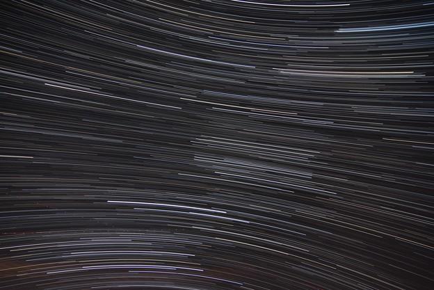 南の空 星の軌跡