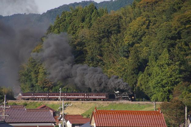 20141019  SL「やまぐち」号上り@津和野-船平山