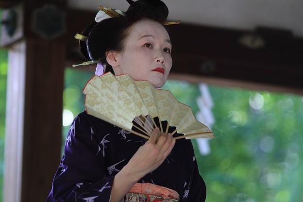 IMG_7193梨木神社・萩まつり・京舞・篠塚流