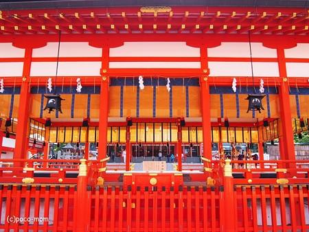 伏見稲荷 外拝殿2014年05月04日_P5040670