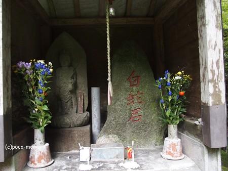 雷山雷神社 金白龍神と白蛇石 PA120401