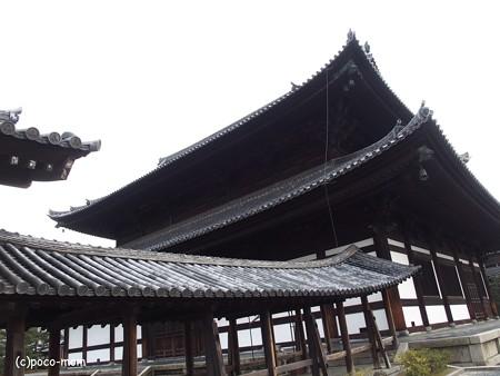 東福寺 通天橋と仏殿