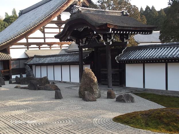 東福寺本坊(方丈)南庭 蓬莱 P1110198