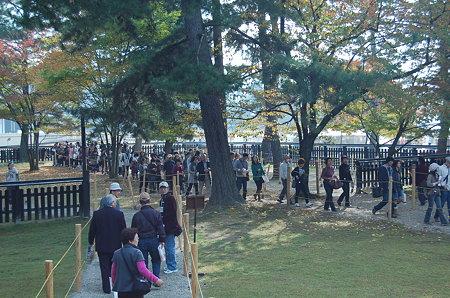 奈良 興福寺北円堂拝観行列