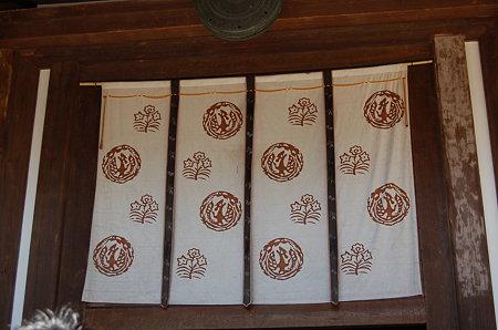 唐招提寺 テンプルカーテン