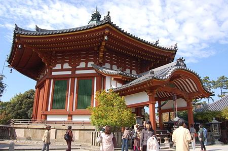 奈良興福寺 南円堂右近の橘