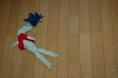 死に体 マムちゃん人形