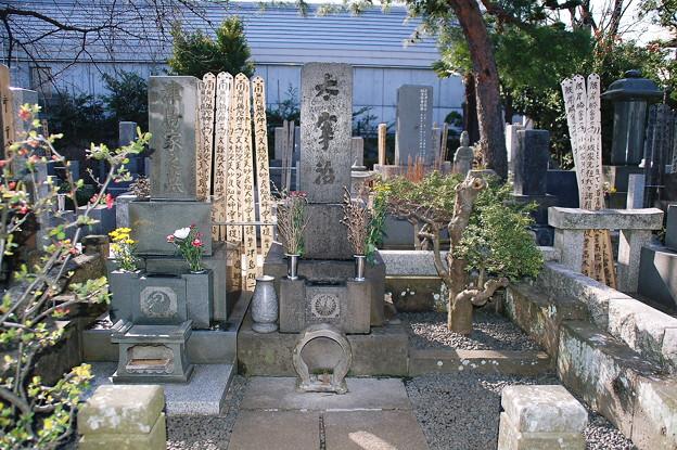 太宰治の墓2010年03月14日_DSC_0414