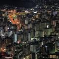 写真: 大晦日の横浜ランドマークタワーからの光景