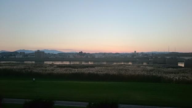 2015年11月30日夕方の大淀川1