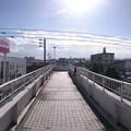 写真: 【GoogleCardBoardカメラ用】宮交シティ歩道橋から