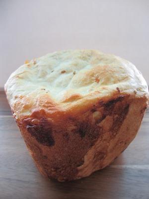 アマニとコーンのパン