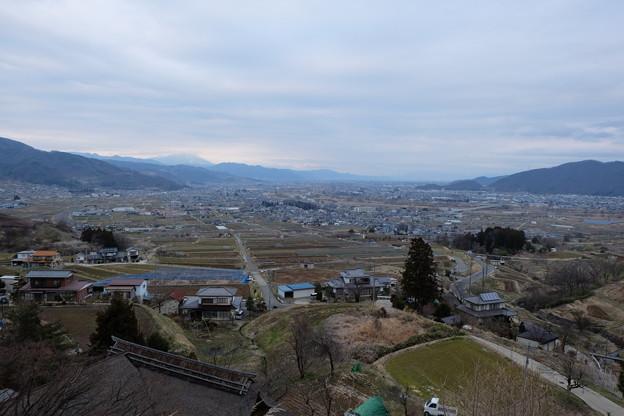 長楽寺姨石からの眺望