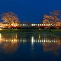 写真: 飯給夜桜 宵 RAW現像