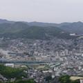 写真: 稲佐山からの眺望(北側)
