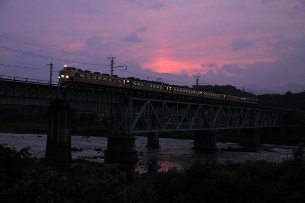 上越線 渋川-敷島 臨時急行能登