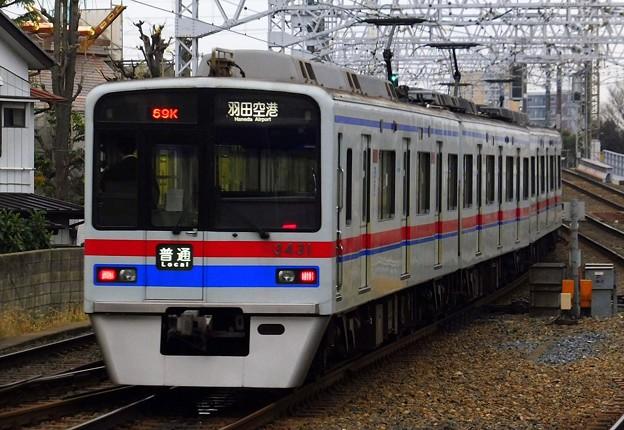 3400形3438F 普通KK17羽田空港(768K)