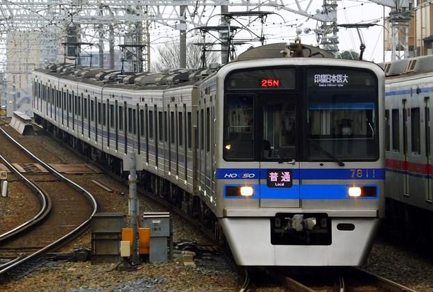 普通HS14印旛日本医大(825N)7300形7818F