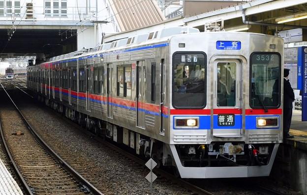 普通KS01上野 3500形3532F(856レ)