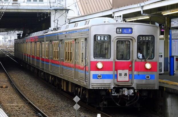 普通KS01上野 3500形3592F(854レ)