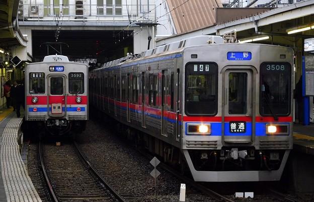 普通KS01上野 3500形3508F-3528F(746レ)