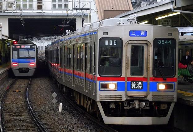 普通KS01上野 3500形3544F-3548F(612レ)