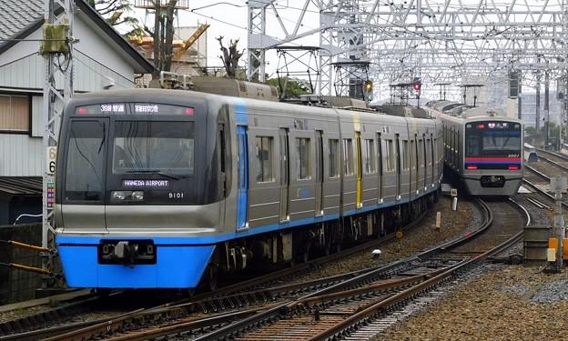 北総9100形9101F 普通KK17羽田空港(738N)