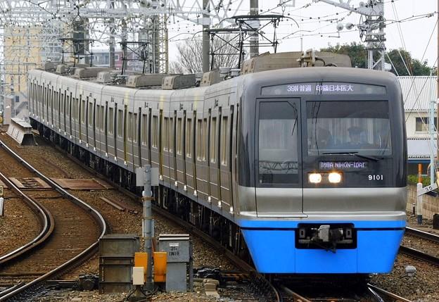 普通HS14印旛日本医大(939N)北総9100形9101F